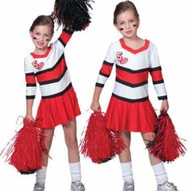 Verkleedkleding  Cheerleader jurk meisjes tip