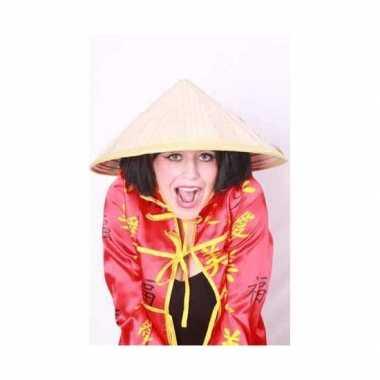 Verkleedkleding  Chinese strohoedjes tip