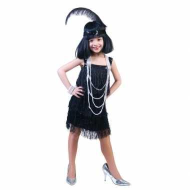 Verkleedkleding  Disco jurkje meisjes tip