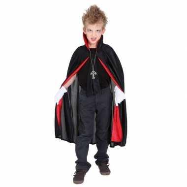 Verkleedkleding dracula/vampier verkleed cape kind tip