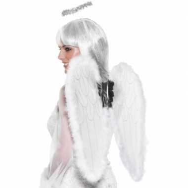 Verkleedkleding  Engelen vleugels halo tip