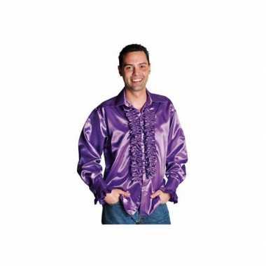 Verkleedkleding  Feest blouse rouches heren tip
