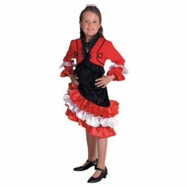 Verkleedkleding  Flamingo jurk meisjes tip