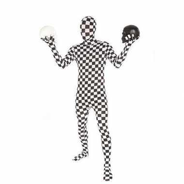 Verkleedkleding  Geblokte morphsuits tip