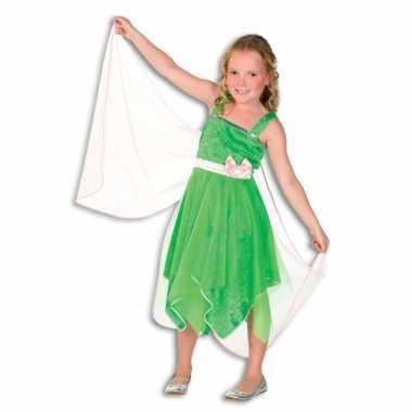 Verkleedkleding  Groen elfjes jurkje kind tip