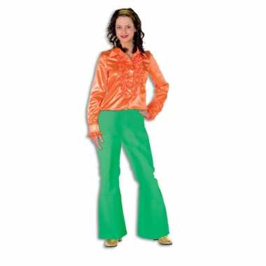 Verkleedkleding  Groene broek dames tip