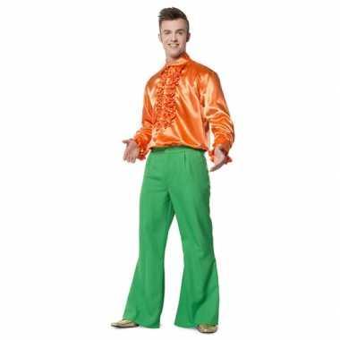 Verkleedkleding  Groene broek heren tip