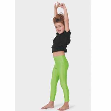 Verkleedkleding  Groene leggings kind tip