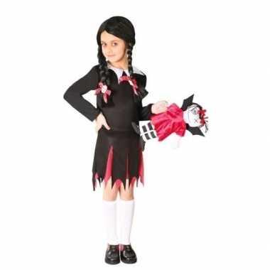 Verkleedkleding halloween dead teen girl jurkje meisjes tip