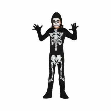 Verkleedkleding  Halloween skelet jumsuit kind tip