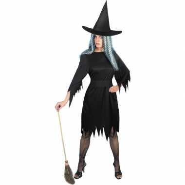 Verkleedkleding  Heksenjurkjes kort dames tip