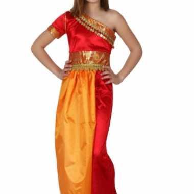 Verkleedkleding  Hindoestaanse meiden jurk tip