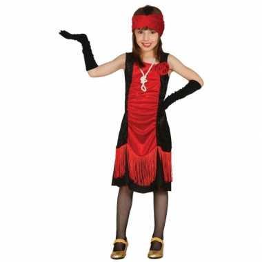 Verkleedkleding  Jaren 20 charleston jurkje meisjes tip