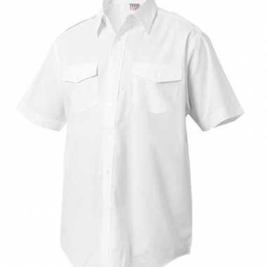 Verkleedkleding  Kapitein overhemden korte mouw tip