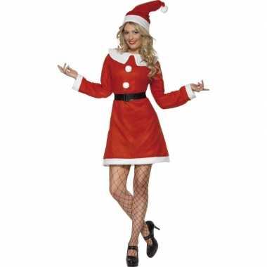 Verkleedkleding  Kerstjurken rood tip