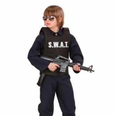 Verkleedkleding  Kogelvrij politie vest kind tip