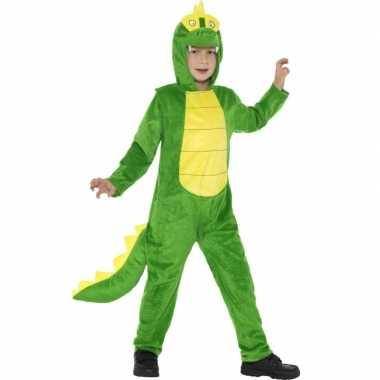Verkleedkleding krokodillen onesie kind tip
