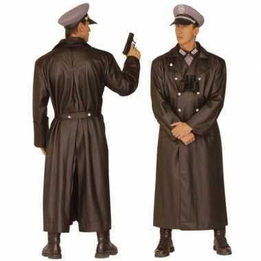 Verkleedkleding  Lange Duitse officieren jas WO2 tip