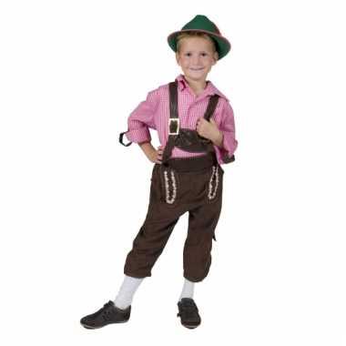 Verkleedkleding  Lederhose jongens tip