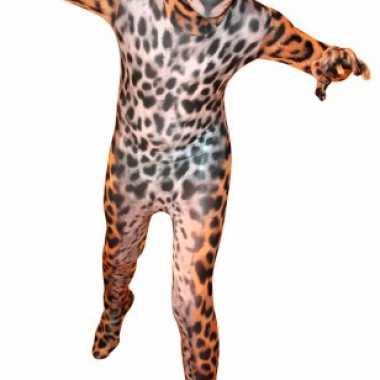 Verkleedkleding  Luipaard morphsuit volwassenen tip
