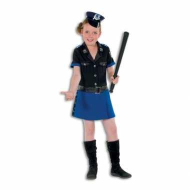 Verkleedkleding  Luxe politieagent jurk meisjes tip