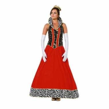 Verkleedkleding  Luxe rode prinsessen jurk tip