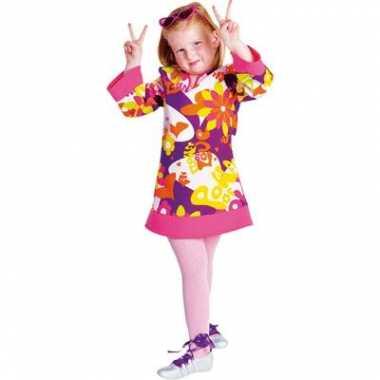 Verkleedkleding meisjes hippie jurk tip