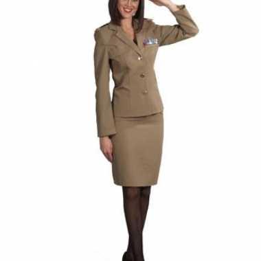 Verkleedkleding  Militaire otfit dames tip