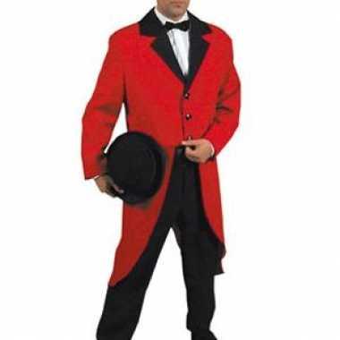 Verkleedkleding  Mooie rode slipjas volwassenen tip