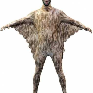 Verkleedkleding  Morphsuit vleermuis opdruk tip