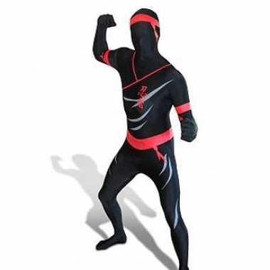 Verkleedkleding  Ninja morphsuit tip