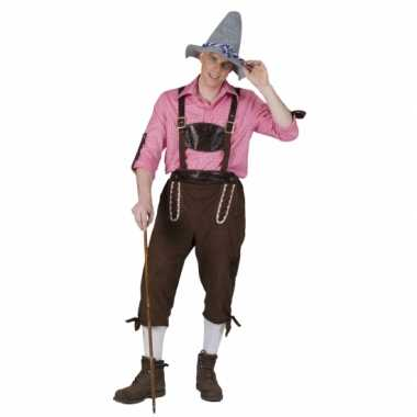 Verkleedkleding  Oktoberfest broek mannen tip