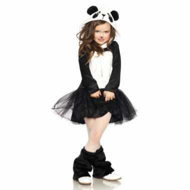 Verkleedkleding  Panda jurkje meisjes tip