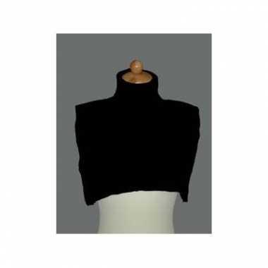 Verkleedkleding  Pietcol zwart tip