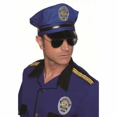 Verkleedkleding politie petje tip