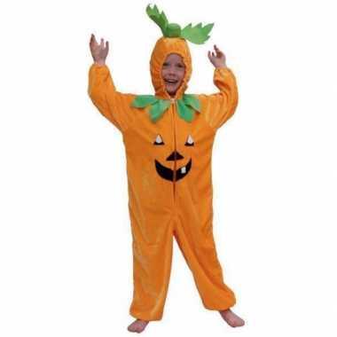 Verkleedkleding  Pompoen Halloween Onesie kind tip
