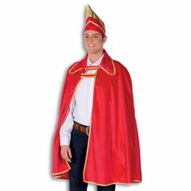 Verkleedkleding  Prins Carnaval cape hoed tip