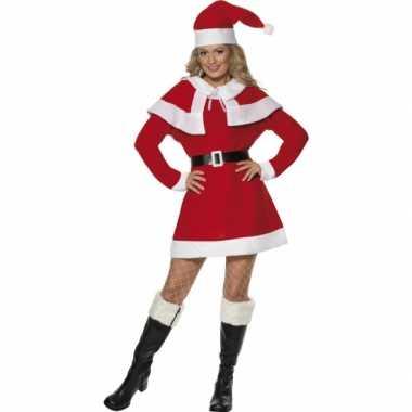 Verkleedkleding  Rode kerstjurkjes cape tip
