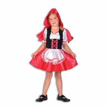 Verkleedkleding  Roodkapje jurk meisjes tip