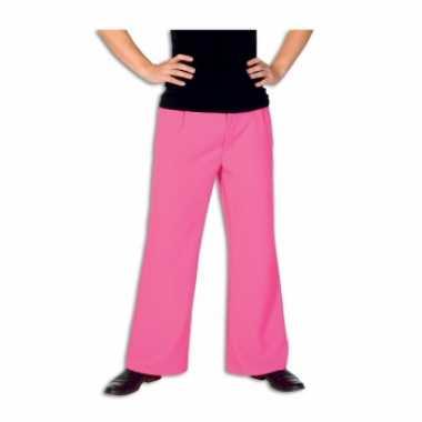 Verkleedkleding  Roze broek heren tip