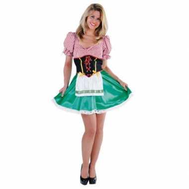 Verkleedkleding  Sexy dames Tiroler jurkje tip