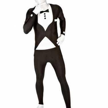 Verkleedkleding  Tuxedo morphsuits zwart tip