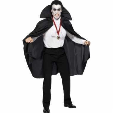 Verkleedkleding  Vampier mantel volwassenen tip