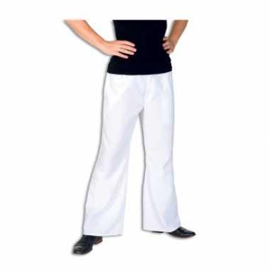 Verkleedkleding  Witte broek heren tip