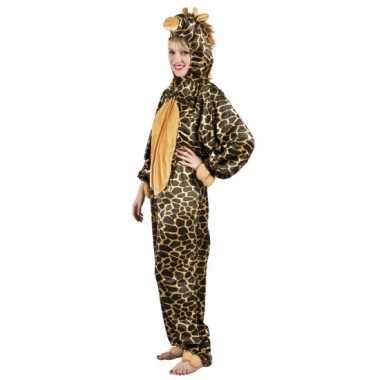 Verkleedverkleedkleding giraffe dames tip
