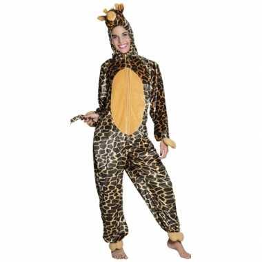 Verkleedverkleedkleding giraffe kind tip