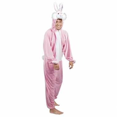 Verkleedverkleedkleding konijn/ haas heren tip