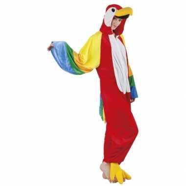 Verkleedverkleedkleding papegaai dames tip