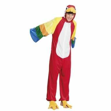Verkleedverkleedkleding papegaai kind tip