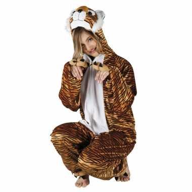 Verkleedverkleedkleding tijger dames tip
